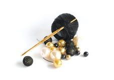 вязание крючком шариков Стоковая Фотография