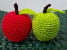 Вязание крючком Яблока Стоковые Изображения