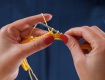Вязание крючком Стоковое Изображение RF