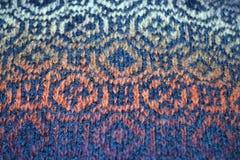 Вязать ткань Стоковое Фото