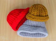 Вязать шляп handmade Стоковая Фотография