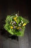 Вянуть букет цветков стоковая фотография rf