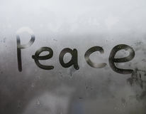 Влажное окно Стоковые Фотографии RF