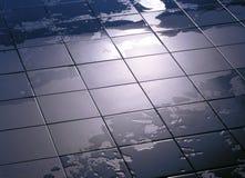 Влажный пол Стоковые Фотографии RF