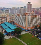 Влажный рынок в Toa Payoh Стоковое фото RF