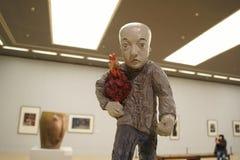 В Азии, Китай, Пекин, музей изобразительных искусств, план выставочного зала, дизайн интерьера стоковая фотография rf
