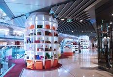 В Азии, Пекин, Китай, здание Parkview зеленое стоковая фотография