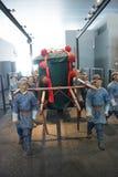 В Азии, Пекин, Китай, современная архитектура, прописной музей, крытый выставочный зал Стоковое Фото