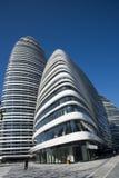 В Азии, Пекин, Китай, современная архитектура, Wangjing SOHO Стоковые Фото