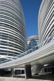 В Азии, Пекин, Китай, современная архитектура, Wangjing SOHO Стоковое Изображение RF