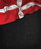 Властительский воинский заказ года сбора винограда флага Мальты на доске черноты Grunge Стоковые Фотографии RF