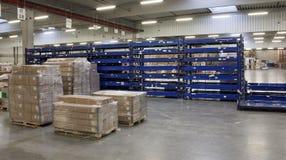 В большом складе Стоковое фото RF