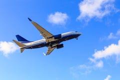В воздух Стоковая Фотография RF