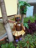 В дворе дома в Togliatti Стоковое фото RF