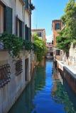 В воде синее небо отражено Стоковые Фото