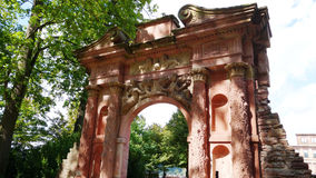 в Германии, который памятниках хорошо держат все еще красивых и исторических Стоковая Фотография