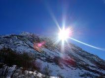 В горах Стоковая Фотография RF
