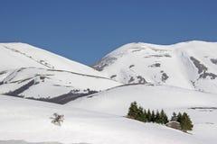 В горах Sibilline Стоковые Изображения RF
