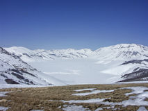 В горах Sibilline Стоковое Фото