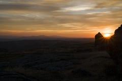 В горизонте Стоковое фото RF