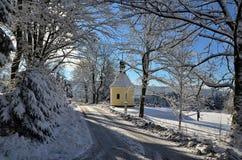 В горном селе Стоковая Фотография RF