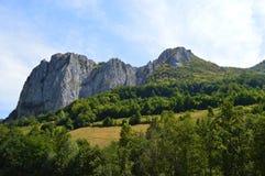 В горных областях в Transilvania, Румыния Стоковые Фото