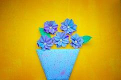 В горшке цветки Стоковые Изображения RF