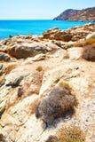 в Греции небо острова mykonos голубое Стоковая Фотография RF