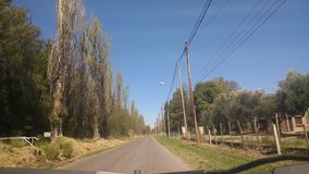 В дорогу Стоковое Изображение