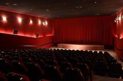 В зале кино Стоковые Фотографии RF