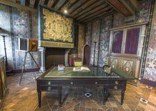 В замке Blois стоковое фото