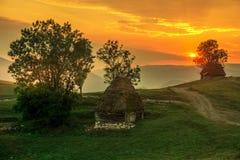 В земле hobbits Стоковая Фотография