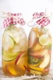 Вливание персика и лимона чая Стоковая Фотография