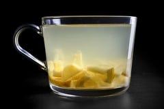 Вливание чая плодоовощ лимона и имбиря Стоковые Изображения