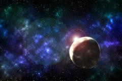 Влияние вселенной Стоковые Изображения RF