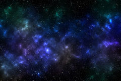 Влияние вселенной Стоковое Фото