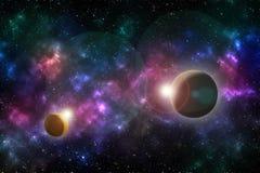 Влияние вселенной Стоковое Изображение RF