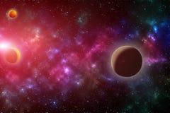 Влияние вселенной Стоковая Фотография RF