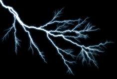 Влияние молнии, предпосылка Стоковые Изображения RF