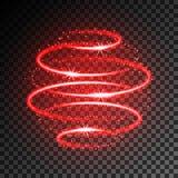 Влияние неонового света Стоковое Фото
