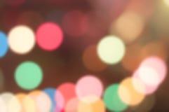 влияние нерезкости предпосылки 50mm горит сторону партии nikkor ночи Стоковые Фотографии RF