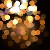 влияние нерезкости предпосылки 50mm горит сторону партии nikkor ночи Стоковые Изображения RF