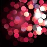 влияние нерезкости предпосылки 50mm горит сторону партии nikkor ночи Стоковое Изображение