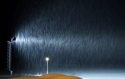 Влияние снега стоковое фото rf
