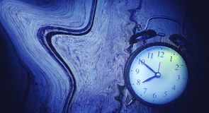 влияние часов Стоковое Изображение RF