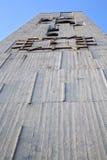 В конспекте cislago и дне колокола башни церков солнечном Стоковое фото RF