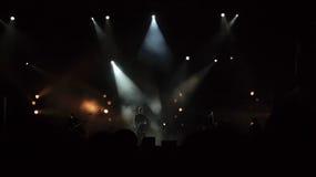 В концерте Стоковая Фотография