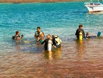 В конце концов в воде Стоковая Фотография