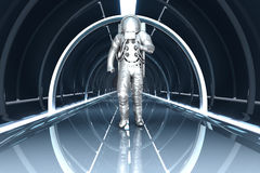 В космической станции Стоковое Фото