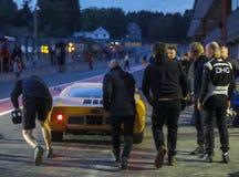 В курорте Francorchamps курорт 6 часов гонок на выносливость стоковые фото